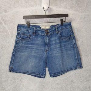 LEVI'S High Waist Jean Shorts
